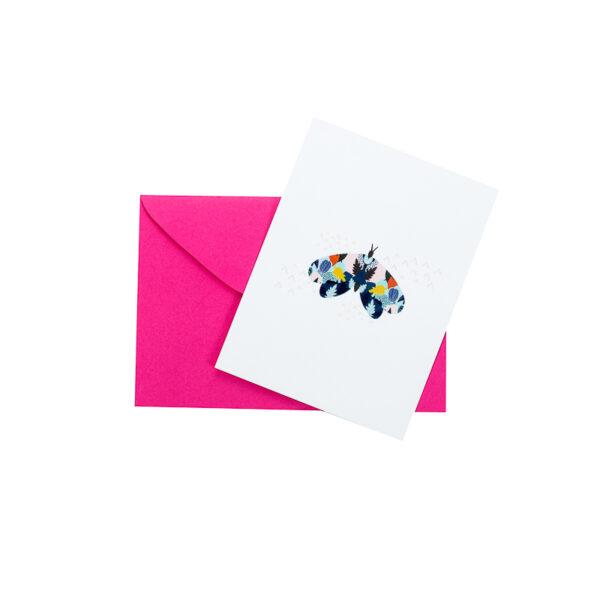 Mini Cartão Insetos