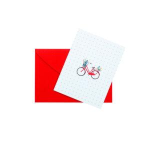 Mini Cartão Bicicleta