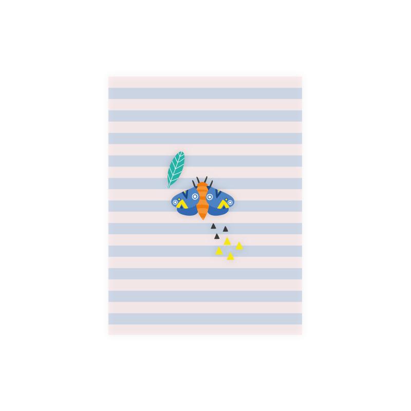 Mini Cartão Mariposa