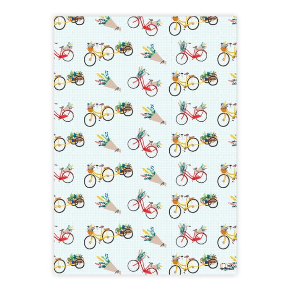 Papel de Presente Bicicleta