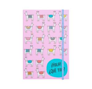 Caderno Mini Lhamas