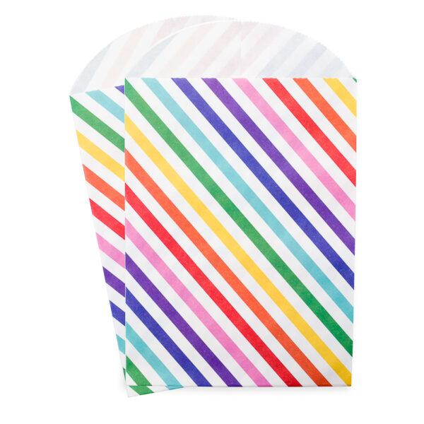 Embalagem Listras Coloridas