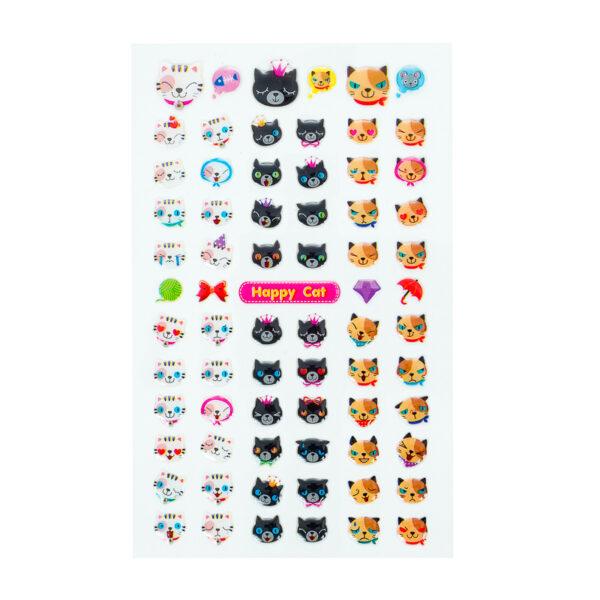 Adesivos Cats Emoji