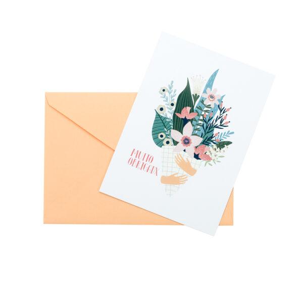 Postal Muito Obrigadx