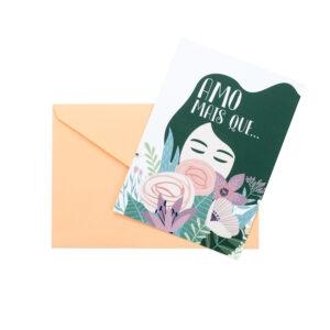 Postal Amo Mais Que