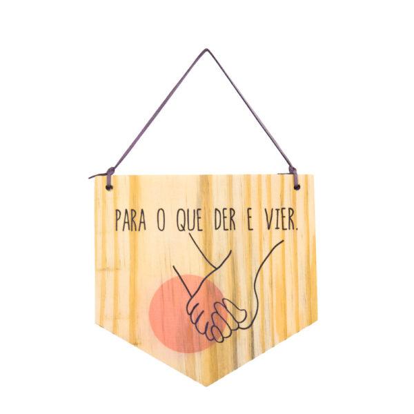 bandeirola de Madeira - Der e Vier