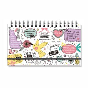 Mini Agenda Beija Flor 2020