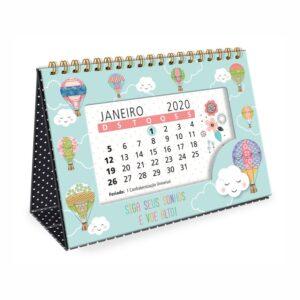 Calendário de Mesa Sonhos 2020