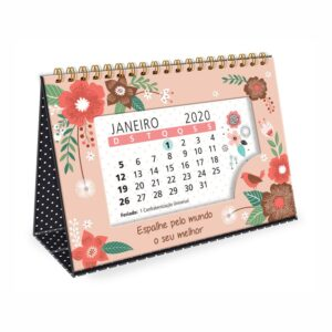 Calendário de Mesa Jardim 2020