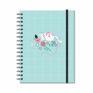 Caderno Colegial Gato