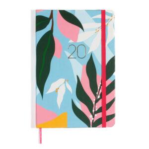 Agenda Planner 2020 - Folhagem Azul