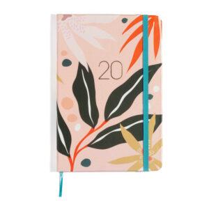 Agenda Planner 2020 - Folhagem Rosa