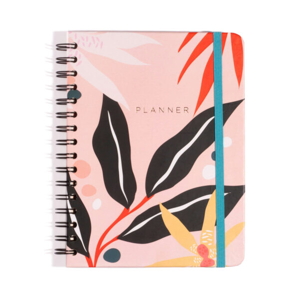 Planner Wire-O Folhagens