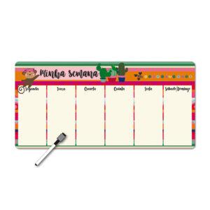 Super Memo Board Magnético - Frida Colores