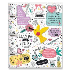 Caderno Argolado Beija Flor