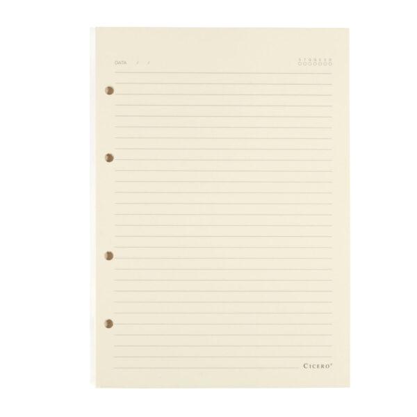 Refil Caderno Argolado Pautado