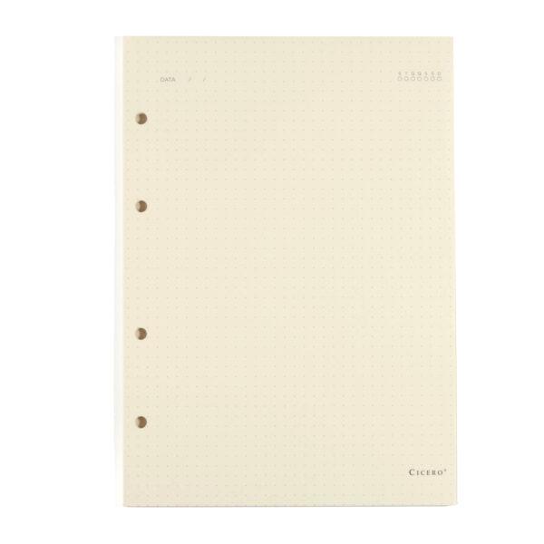 Refil Caderno Argolado Pontihado