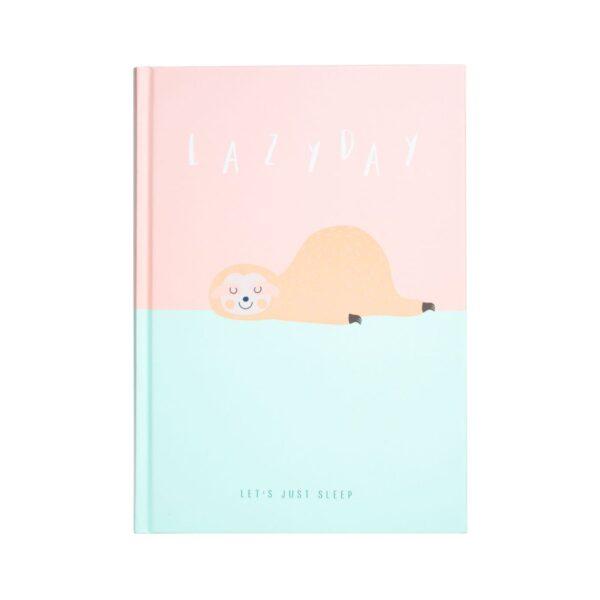 caderno bicho preguiça