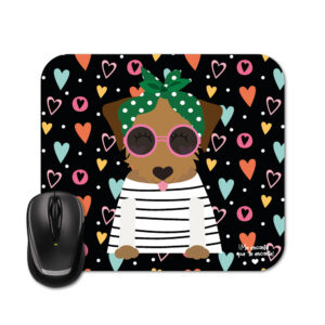 Mouse pad dog caramelo
