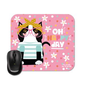 Mouse pad gata fashion