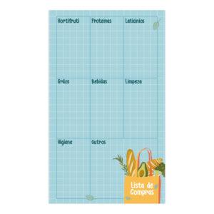 bloco lista de compras