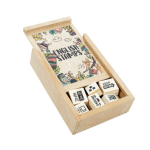 KIT ENGLISH STAMPS
