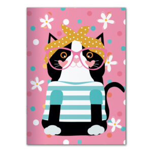 PLANNER MENSAL GATA FASHION