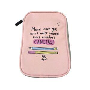 ESTOJO MINHAS CANETAS - ROSA