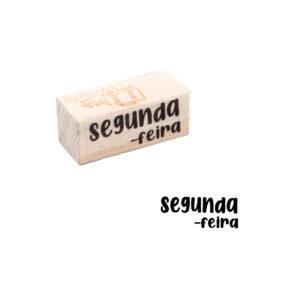 CARIMBO DIA DA SEMANA – SEGUNDA FEIRA