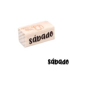 CARIMBO DIA DA SEMANA – SÁBADO
