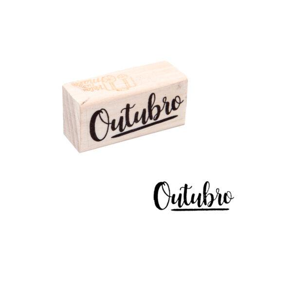 CARIMBO MÊS - OUTUBRO