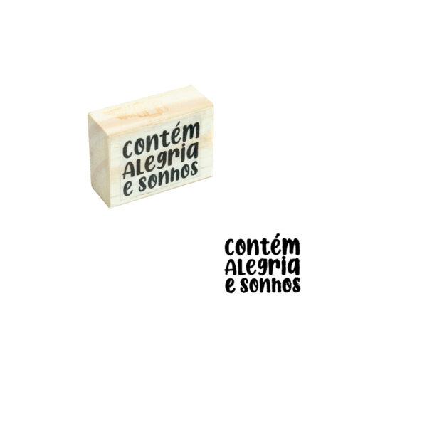CARIMBO ALEGRIA E SONHOS