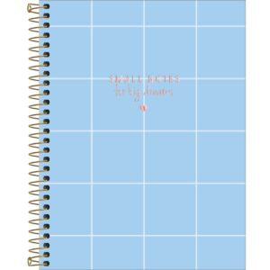 CADERNO COLEGIAL SOHO BIG DREAMS - QUADRICULADO