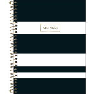CADERNO COLEGIAL WEST VILLAGE - LISTRAS