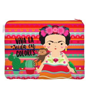 SUPER NECESSAIRE FRIDA COLORES