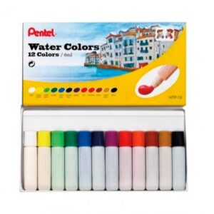 KIT TINTA AQUARELA 12 CORES