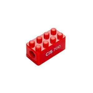 APONTADOR LEGO VERMELHO