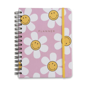 PLANNER WIRE - O SMILEY MARGARIDAS