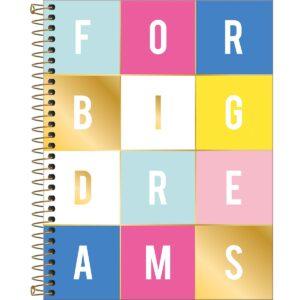 CADERNO COLEGIAL 80 FOLHAS - DREAMS