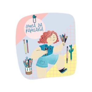 SUPER ADESIVO LINA - LOUCA DA PAPELARIA