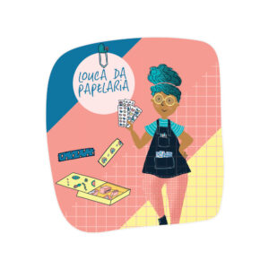 SUPER ADESIVO LOLA - LOUCA DA PAPELARIA
