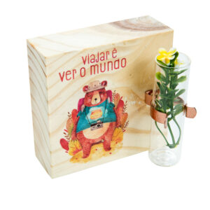 CUBO FLOWER MUNDO