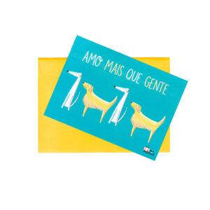 POSTAL DOGS AMO MAIS