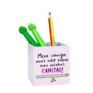 PORTA LÁPIS - MINHAS CANETAS
