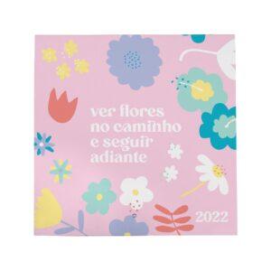 CALENDÁRIO DE PAREDE JARDIM PRIMAVERA - 2022