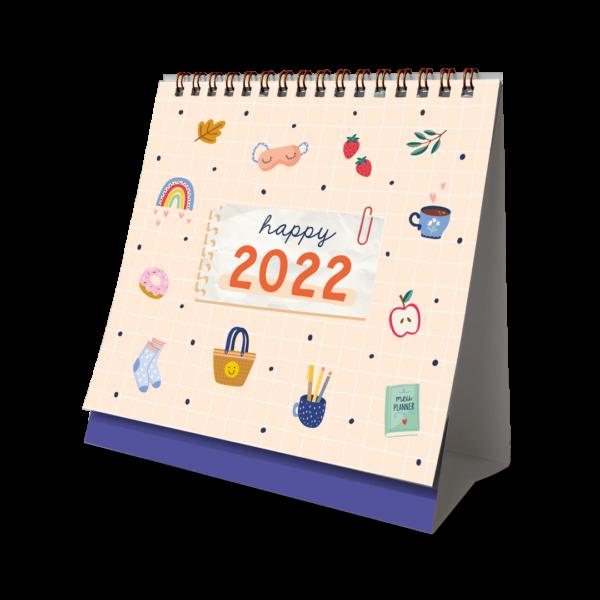 CALENDÁRIO DE MESA 2022 - HAPPY TIME